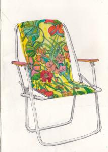 """""""relax"""", 2013, gelstift und fineliner auf papier, 21cm x 14,8cm"""