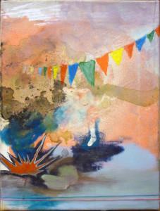'peng', 2015, öl auf leinwand