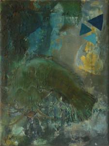 'welz', 2014, öl auf leinwand, 24cm x 19,5cm
